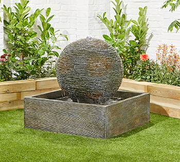 Image of Dark Planet Easy Fountain Garden Water Feature