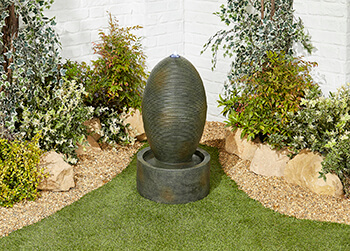 Image of Petite Ripple Easy Fountain Garden Water Feature