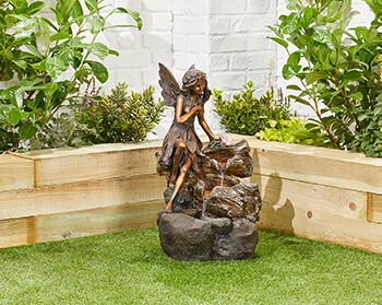 Image of Pixie Spills Easy Fountain Garden Water Feature