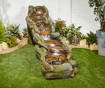 Image of Rapid Waters Easy Fountain Garden Water Feature