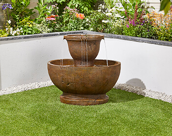 Image of Tuscan Pour Easy Fountain Garden Water Feature