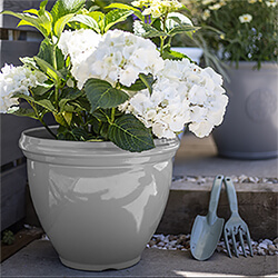 Small Image of Kelkay Plant Avenue Trad. Collection Classic Pot in Grey
