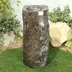 Small Image of Marble Trickle Easy Fountain Garden Water Feature