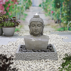 Small Image of Kelkay Distinctive Collection Lotus Buddha Water Feature