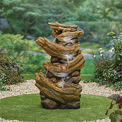 Small Image of Kelkay Natural Collection Nootka Springs Water Feature