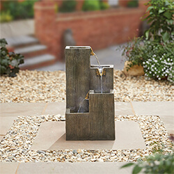 Small Image of Kelkay Traditional Collection Coastal Sleepers Water Feature