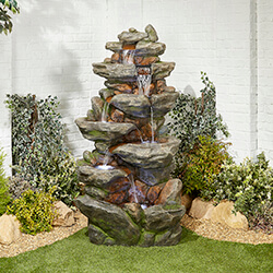 Small Image of Lugano Easy Fountain Garden Water Feature