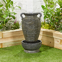 Small Image of Rippling Vase Easy Fountain Garden Water Feature