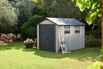 Image of Keter Oakland 7511 Garden Shed in Brownish Grey