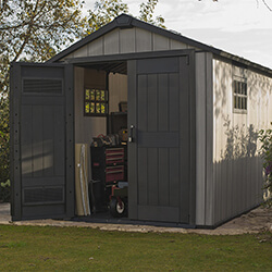 Extra image of Keter Oakland 7511 Garden Shed in Brownish Grey
