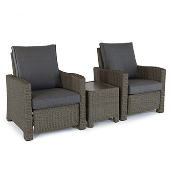 Image of Kettler Palma Relaxer Duo Set in Rattan