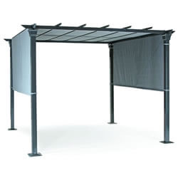 Small Image of Kettler 3x3m Panalsol with Canopy in Taupe