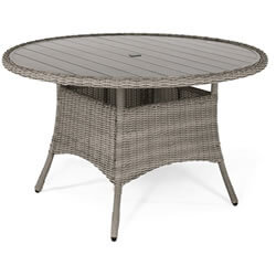 Extra image of Kettler Palma 4 Seater Dining Set in Rattan