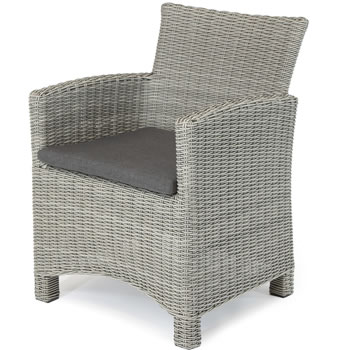 Image of Kettler Palma Dining chair in White Wash