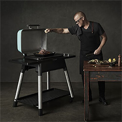 Small Image of Everdure Force Gas BBQ in Mint
