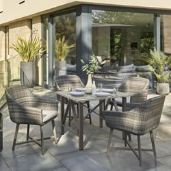 Small Image of Kettler LaMode 4 Seater Dining Set