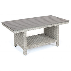Small Image of Kettler Palma Coffee Table in White Wash