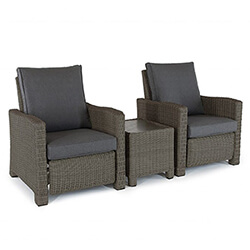 Small Image of Kettler Palma Relaxer Duo Set in Rattan