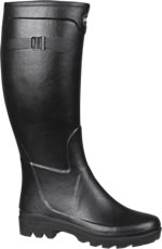 Le Chameau City All Tracks Wellies in Black