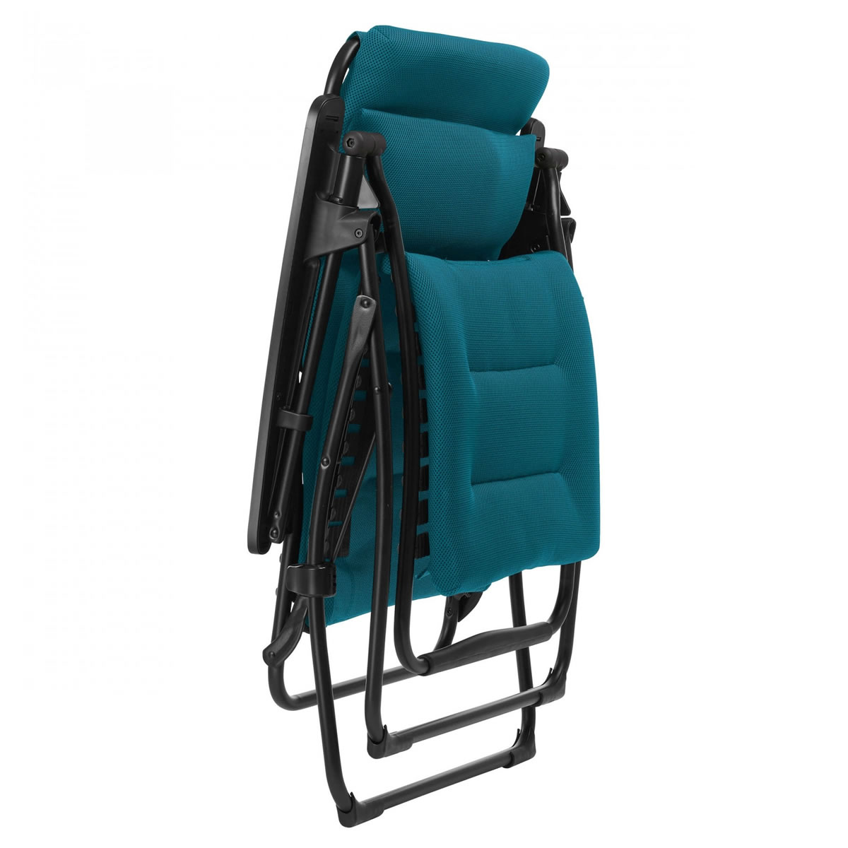 Extra image of Lafuma Futura XL Air Comfort Padded Recliner - Coral Blue