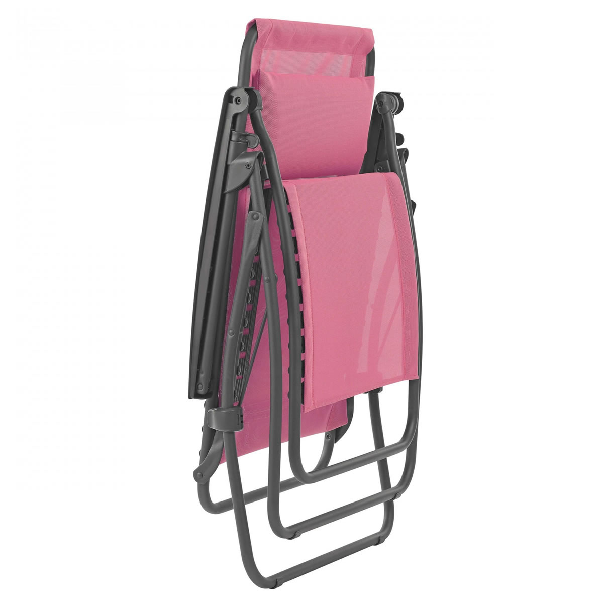 Extra image of Lafuma R Clip Recliner in Batyline Begonia Pink - LFM4020