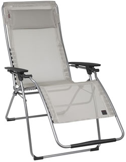 Small Image of Lafuma Futura XL Recliner in Batyline Seigle - LFM3115