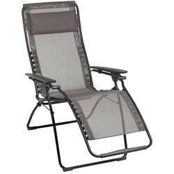 Small Image of Lafuma Futura Recliner in Batyline Graphite - LFM3062