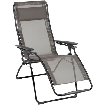 Image of Lafuma Futura Recliner in Batyline Graphite - LFM3062