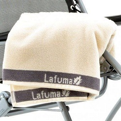Small Image of Lafuma Towel for Recliners in Cream - LFM2662