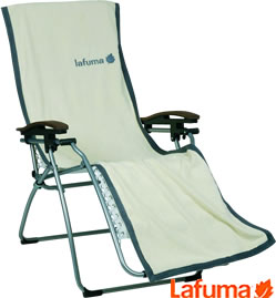 Image of Lafuma RSXA XL Recliner Towel in Cream - LFM2422