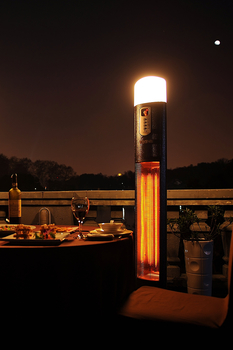 Image of La Hacienda Diana Warmwatcher Patio Heater & Light 2960 watt