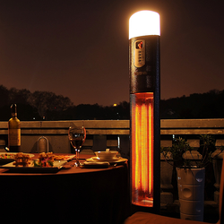 Small Image of La Hacienda Diana Warmwatcher Patio Heater & Light 2960 watt