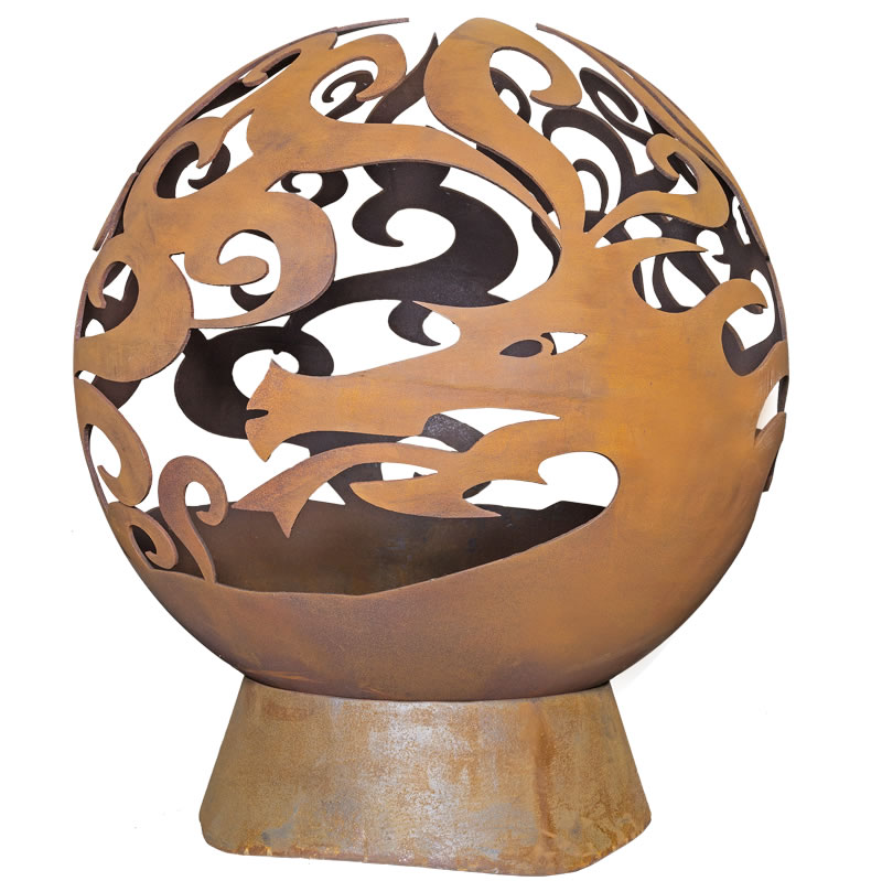 Extra image of La Hacienda Dragon Fire Globe