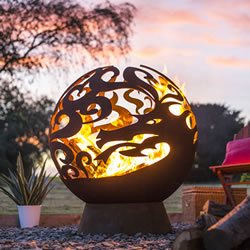Small Image of La Hacienda Dragon Fire Globe