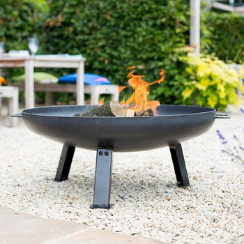 Image of La Hacienda Pittsburgh Steel Firepit - Small - 60cm Diameter