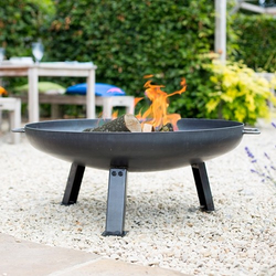 Small Image of La Hacienda Pittsburgh Steel Firepit - Small - 60cm Diameter