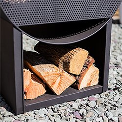 Extra image of La Hacienda Camacha Perforated Fireplace