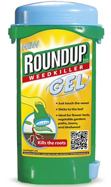 Image of Roundup Spot Treatment Weedkiller Gel - 150ml