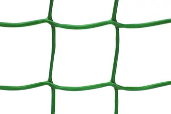 Image of 20m x 1m - Very strong green plastic garden mesh - 50mm square