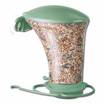 Image of Perky Pet Dine Around Wild Bird Window Feeder