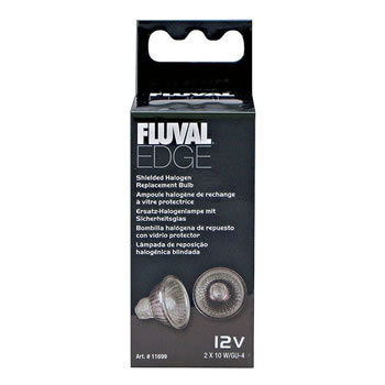Image of Fluval EDGE Shielded Halogen Replacement Bulb 2 x 10w