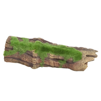 Image of Fluval Brown Driftwood Replica With Moss 22.5cm