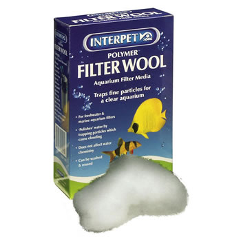 Image of Interpet Polymer Filter Wool 100g