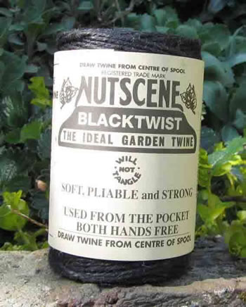 Image of 3 Rolls Nutscene Twine Jute String for Home & Garden 120m, black