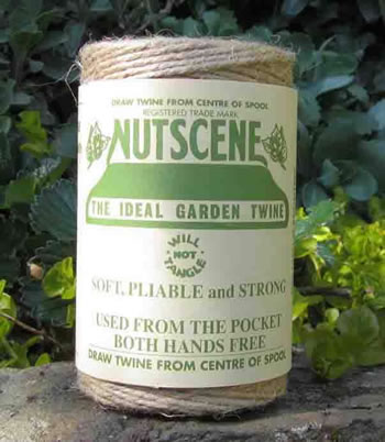 Image of 3 Rolls Nutscene Twine Jute String for Home & Garden 120m, natural