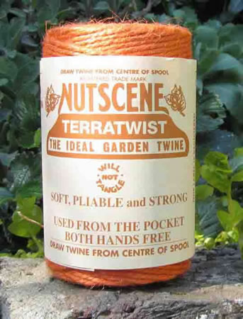 Image of 3 Rolls Nutscene Twine Jute String for Home & Garden 120m, orange