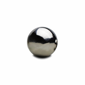 Image of 6.5cm Stainless Steel Mirror Sphere Gazing Ball Garden Ornament (2)