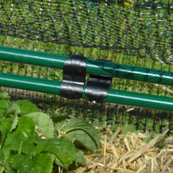 Extra image of Standard Strawberry Cage 46cm x 244cm x 366cm with Bird Netting