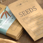 Small Image of 20 Seed Storage Envelopes by Burgon & Ball: Store and Swap Your Own Seeds