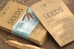 Image of 20 Seed Storage Envelopes by Burgon & Ball: Store and Swap Your Own Seeds